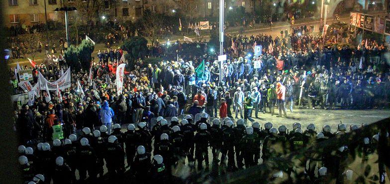 Starcia górników z policją w Zabrzu. Mimo porozumienia
