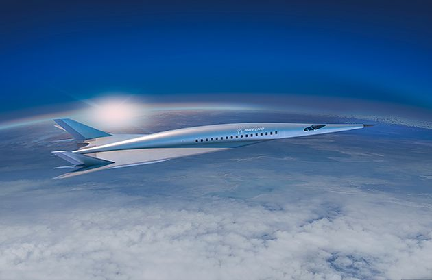 Boeing zaskoczył hipersonicznym samolotem koncepcyjnym. Podróże miałyby się skrócić o 75 proc.
