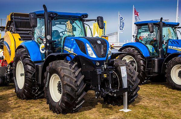 Marka New Holland od ośmiu lat na pozycji lidera rynku Wyniki sprzedaży nowych ciągników w 2016 roku