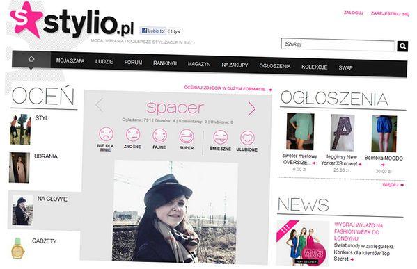 Stylio.pl ma aspiracje. Choć do czołówki daleko