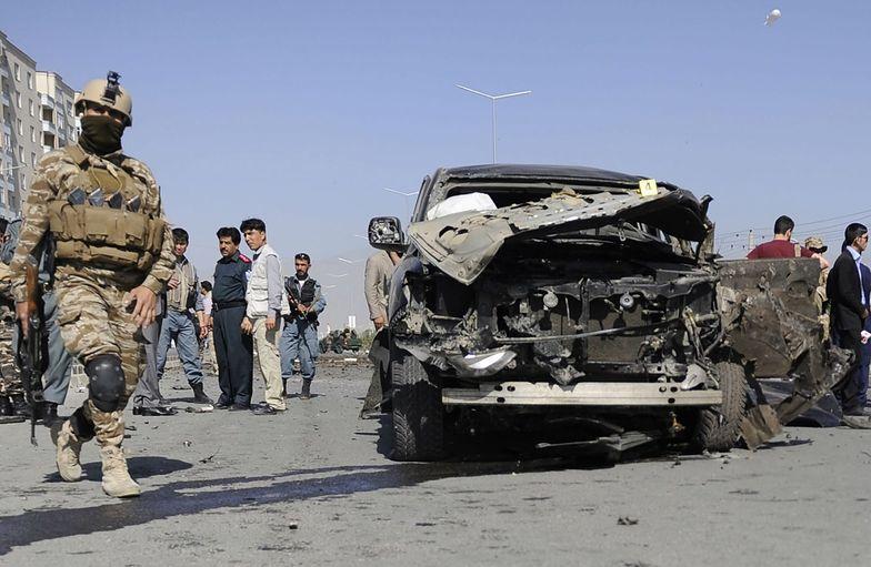 Zamach w Afganistanie. Trzej Amerykanie zginęli w wybuchu bomby