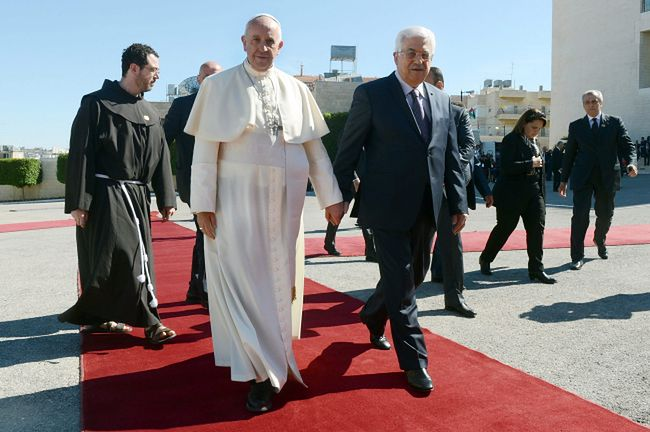 Pontyfkat Franciszka. Papież z wizytą w Ziemi Świętej
