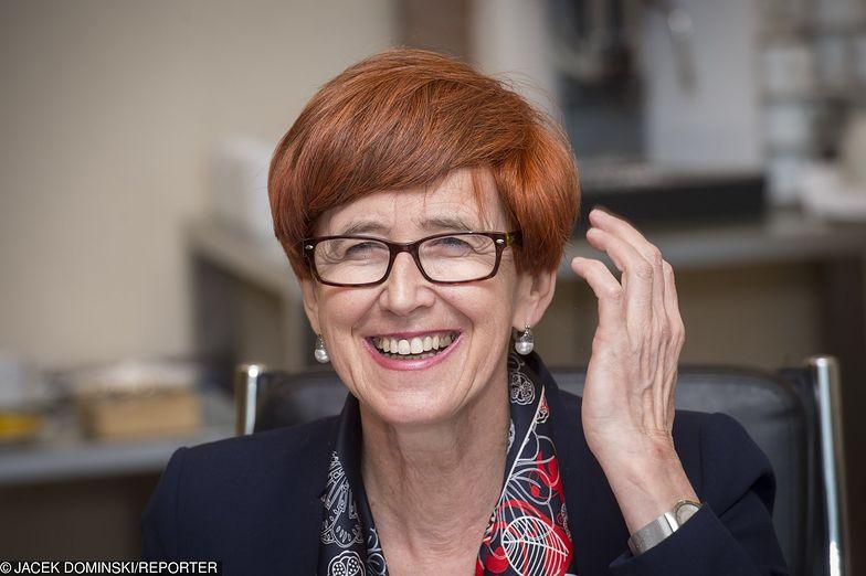 Elżbieta Rafalska przekazuje coraz lepsze dane