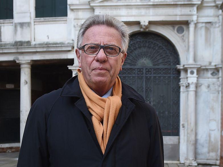Przewodniczący Komisji Weneckiej Gianni Buquicchio.
