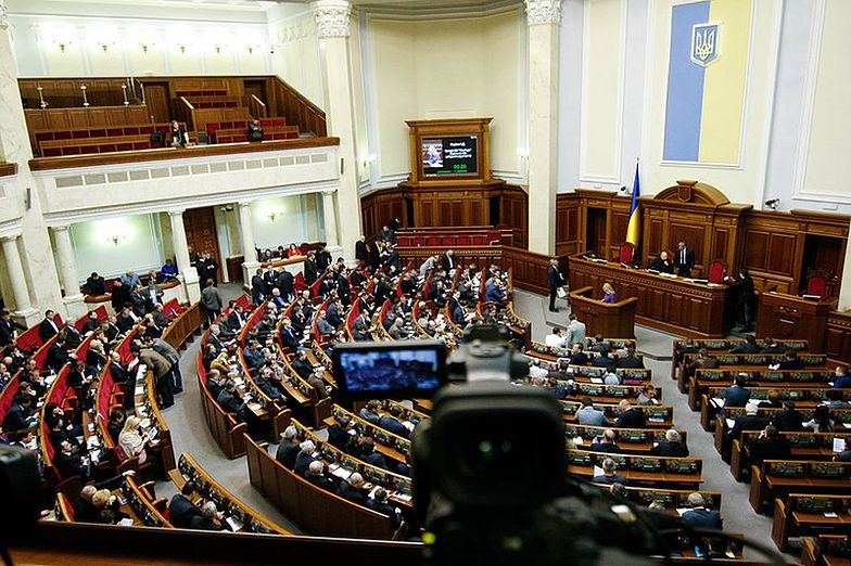 Wojna na Ukrainie. Parlament zawiesza prawa człowieka