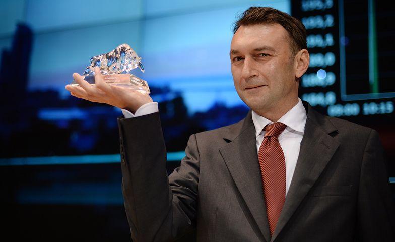 prezes OT Logistics Piotr Chejderowski
