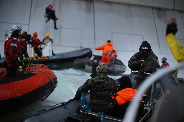 Los Polaka z Greenpeace w rękach sądu