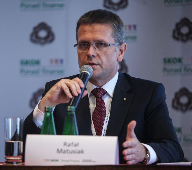 Rafał Matusiak, prezes Kasy Krajowej SKOK