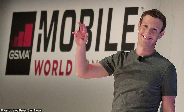 Mark Zuckerberg ma powody do zadowolenia