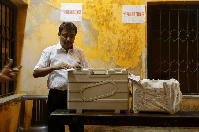 Lokal wyborczy w Indiach