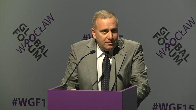 Grzegorz Schetyna deklaruje pomoc w sprawie fali imigrantów