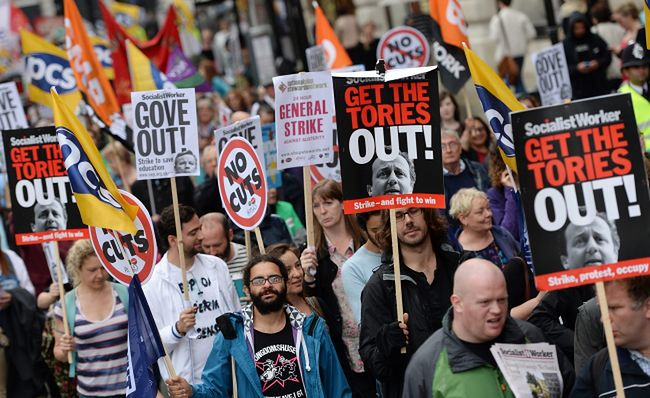 Wielka Brytania strajkuje przeciw polityce zaciskania pasa
