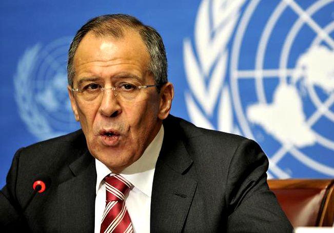 Na zdjęciu szef MSZ Rosji Siergiej Ławrow</br>