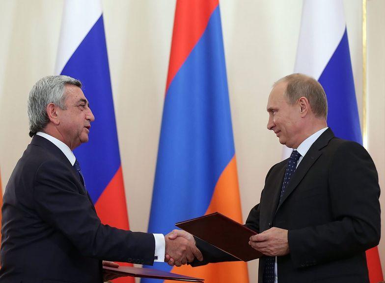 Wczoraj prezydent Armenii Serż Sarkisjan</br> spotkał się z Władimirem Putinem