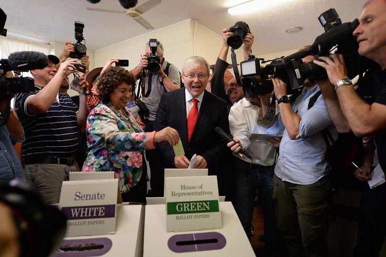 Wybory w Australii. Premier Rudd przyznał się do porażki