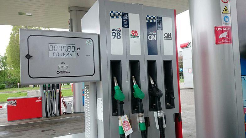 Na najdroższych stacjach cena benzyny przekroczyła próg 5 zł za litr