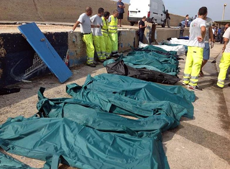 Akcja na Lampedusie. Bilans ofiar wzrósł do 160