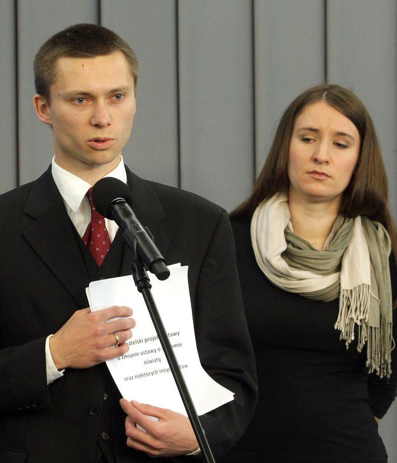 Karolina i Tomasz Elbanowscy
