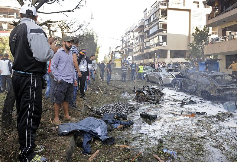 Terroryzm islamski. Podwójny zamach w Libanie