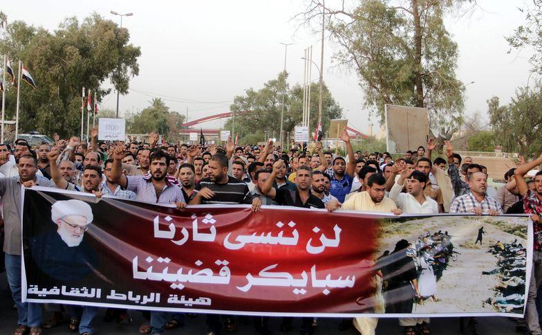 Protest przeciwko Państwu </br>Islamskiemu w Iraku