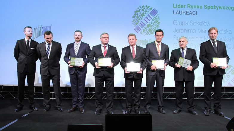 Laureaci Nagrody Rynku Spożywczego / Materiały organizatora