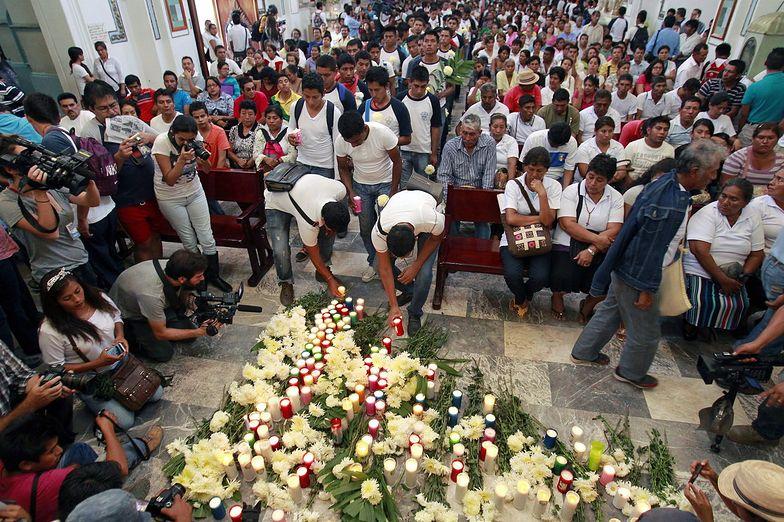 Sytuacja w Meksyku. W pierwszym z odkrytych grobów nie ma ciał studentów