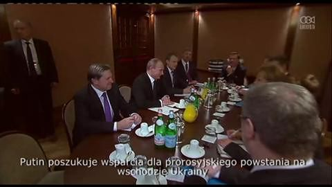 Putin spotkał się z Merkel w kuluarach szczytu ASEM