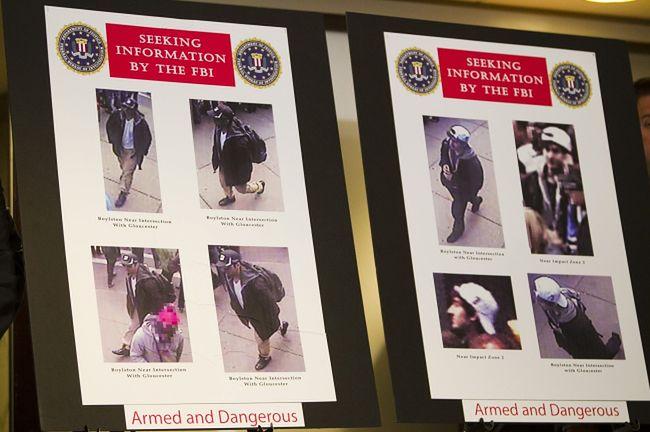 Zdjęcia zamachowców, zarejestrowane przez kamery przemysłowe