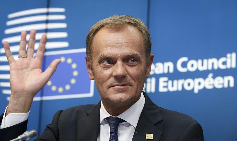 """Donald Tusk po wyborze: """"Europa ma i będzie miała sens"""""""