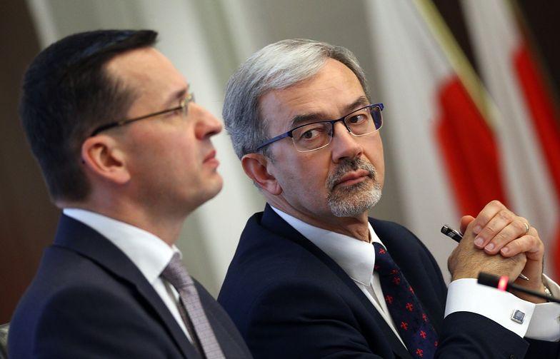 Jerzy Kwieciński był pierwszym zastępcą Morawieckiego. Teraz po raz pierwszy sam będzie ministrem