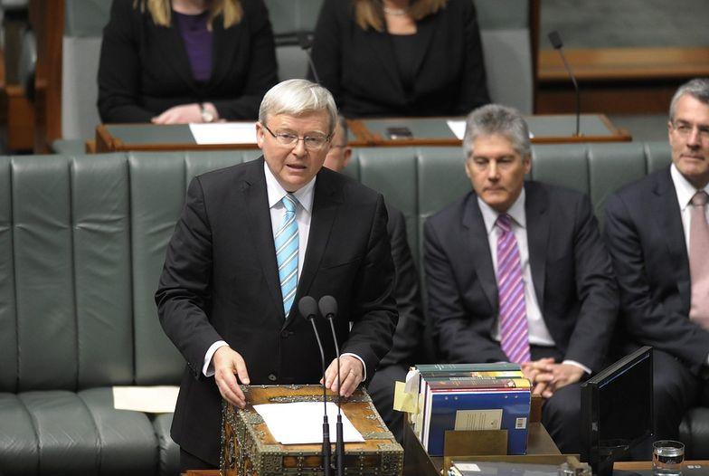 Kevin Rudd nowym premierem Australii
