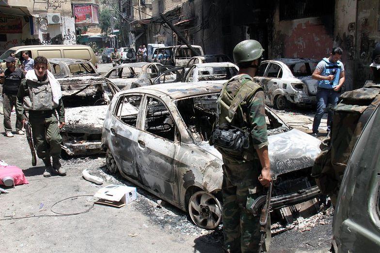 Syria wciąż niespokojna. Czołgi na obwodnicy Damaszku