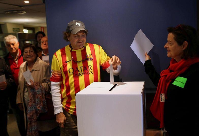 Głosowanie w Katalonii - ponad 80 proc. za niepodległością