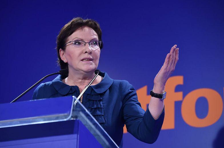 Ewa Kopacz musi pocieszać Platformę Obywatelską