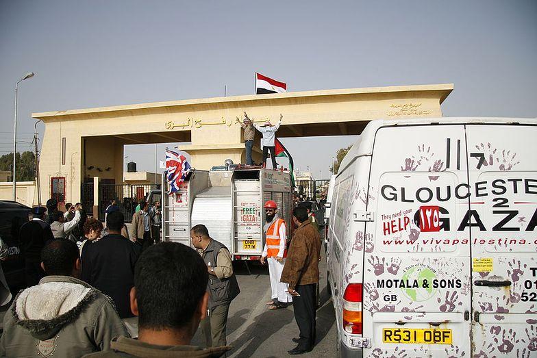 Na przejściu granicznym w Rafah takie ruchu już się nie zobaczy</br>