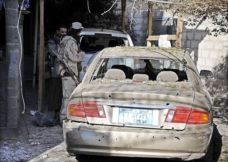 Terroryści w Jemenie. Sześć ofiar śmiertelnych samobójczego zamachu