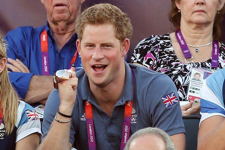 brytyjski książę Harry