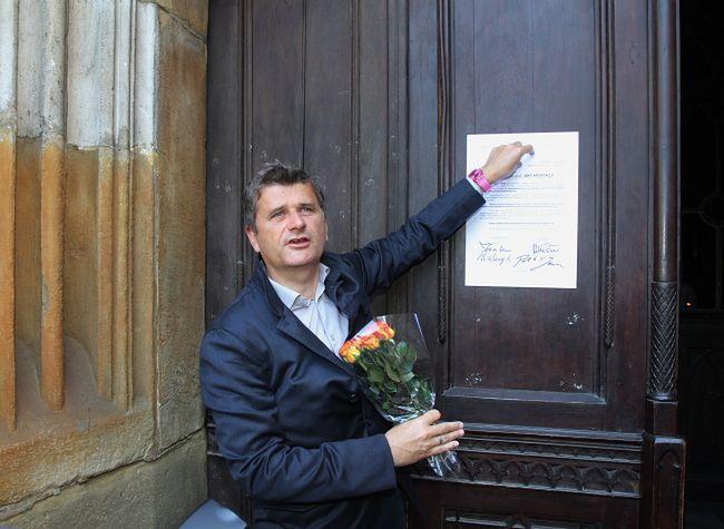 Akt apostazji. Palikot ogłosił w Krakowie