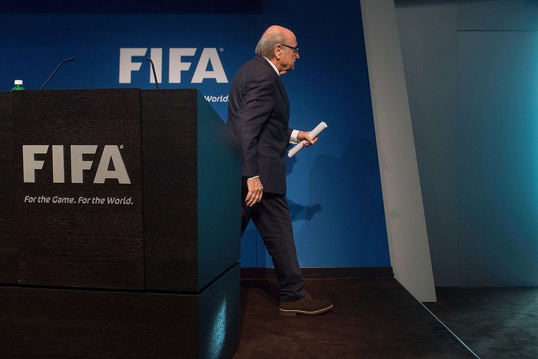 Prezydent FIFA Joseph Blatter