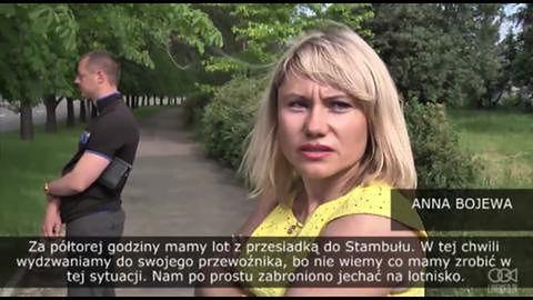 Prorosyjscy separatyści zablokowali drogę na lotnisko; podróżni utknęli w miejscu