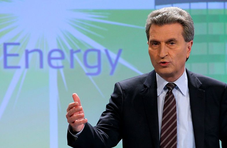 Guenther Oettinger, komisarz UE ds. energii