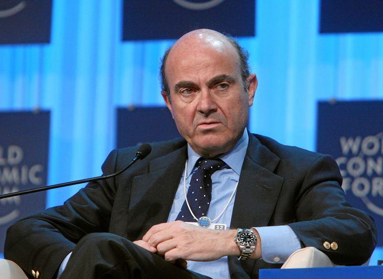 Luis de Guindos, minister finansów Hiszpanii