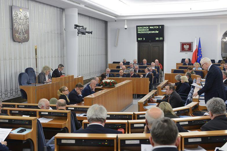 """15 lutego 2018 r. Głosowanie w Senacie nad poprawkami do """"konstytucji biznesu"""""""