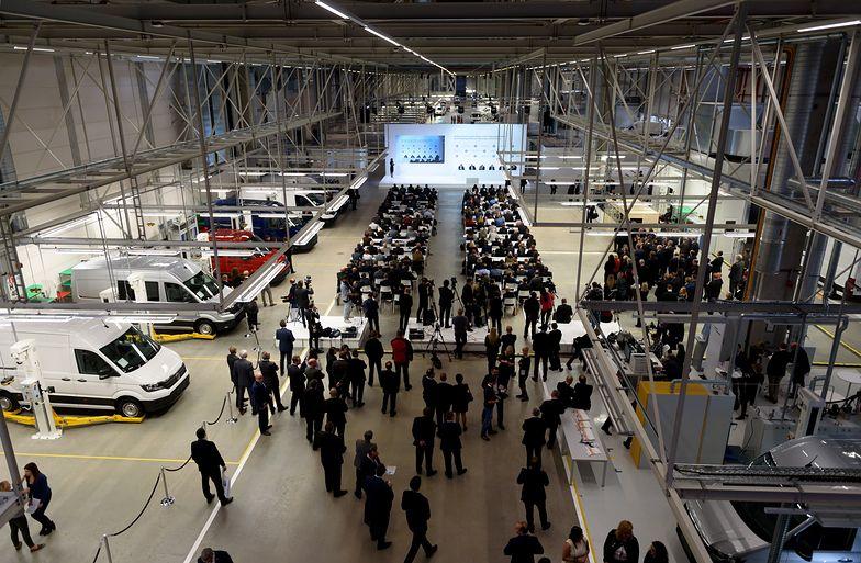 Volkswagen otworzył nową fabrykę w gminie Września