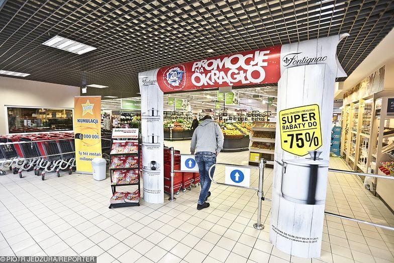 Sieci handlowe wprowadzają duże promocje przed niedzielą objętą zakazem handlu