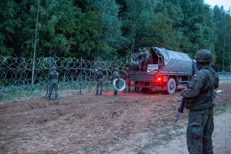 Mur na granicy z Białorusią pochłonie gigantyczne pieniądze. Rząd oszacował koszty