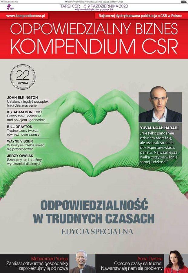 """22. wydanie Kompendium CSR z """"Gazetą Wyborczą"""""""