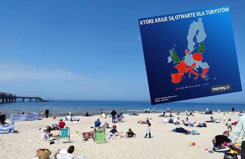 Dużo popularnych wśród turystów krajów wciąż nie otworzyło swoich granic dla Polaków.