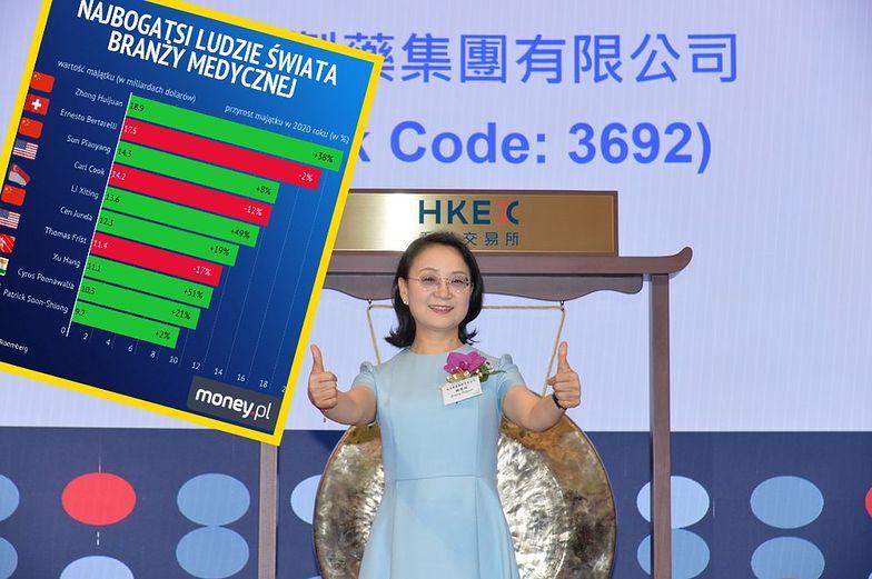 """Na czele listy """"medycznych bogaczy"""" stoi Zhong Huijuan"""