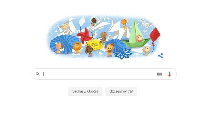 Google Doodle w Dzień Dziecka. Dzisiaj świętują wszyscy najmłodsi